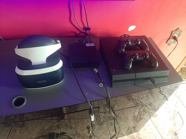 PS4 + VR + JOGOS R$ 3.100