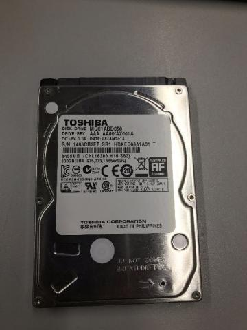 HD.D Toshiba 500Gb