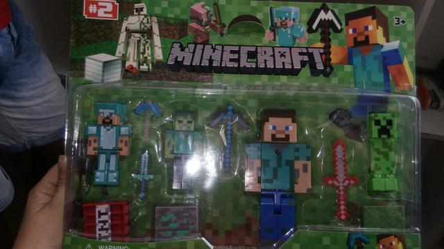 Brinquedo mine craft