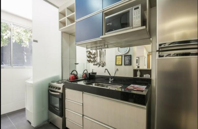 Metrô de colégio, apartamento 2 Qts, parcelamos entrada, ótima localização - Foto 4