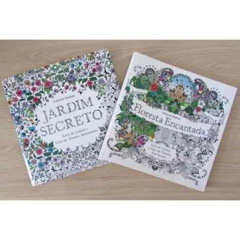 Livro Jardim Secreto Floresta Encantada