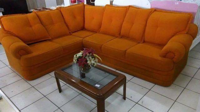Sofá usado mto confortável, almofadas soltas