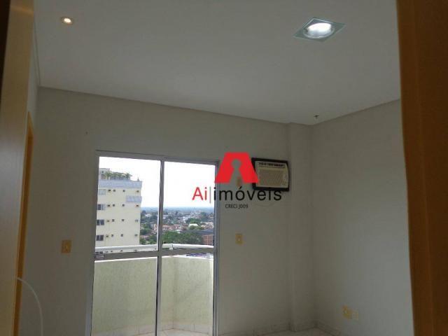 Apartamento com 3 dormitórios para alugar, 82 m² por r$ 1.850,00/mês - 7º bec - rio branco - Foto 19