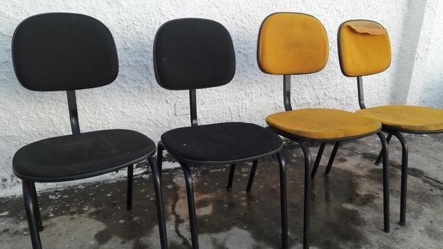 4 cadeiras ( para utilizar somente estrutura ) - Foto 2
