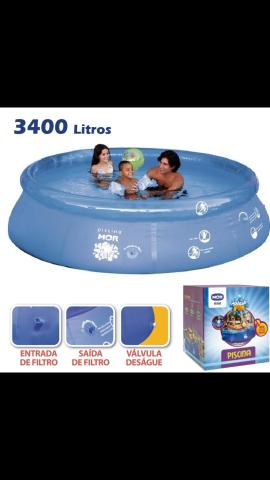 Piscina Splash Fun 3,400litros - Foto 3