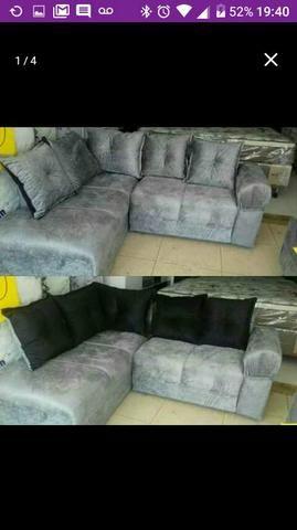 Promoçao 600$ Sofa de canto leia (DESCRIÇÃO) - Foto 3