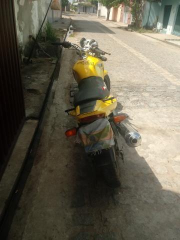 Vendo ou troco por carro moto Twist 2008 - Foto 2
