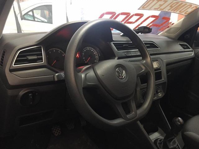Vw-Volkswagen Voyagem 1.6 Mec Flex 2018/2019   - Foto 9