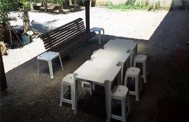 Aluguel Temporada casa Itapoá SC* Sobrado 4 quartos 2 banheiro mobiliada - Foto 9