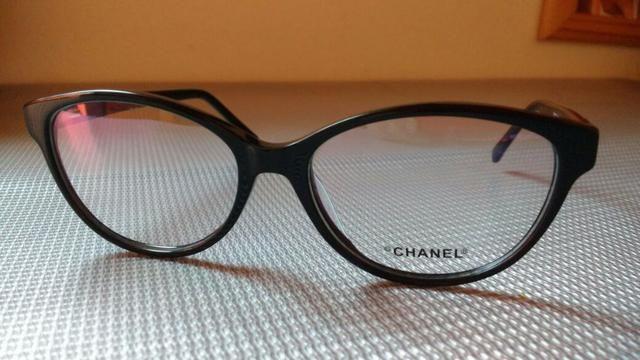 60e784d68743b Armação óculos gatinha channel - Bijouterias