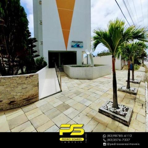 Apartamento com 3 dormitórios à venda, 90 m² por R$ 399.000,00 - Bessa - João Pessoa/PB - Foto 2