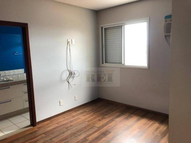 Apartamento com 4 dormitórios para alugar, 270 m² por R$ 3.880/mês - Setor Central - Rio V - Foto 18