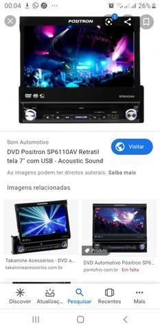 "Vendo DVD POSITRON RETRÁTIL 7"""