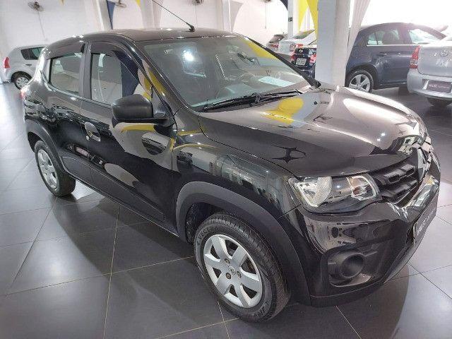Renault Kwid Zen 2018 preto - Foto 2