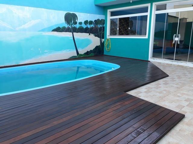 Deck Itauba em piscinas - Foto 2