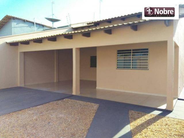 Casa com 3 dormitórios sendo 2 suite à venda, 129 m² por R$ 280.000,00 - Plano Diretor Sul