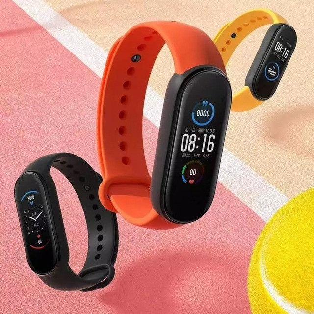 Relógio SmartWatch Mi Band 5 Xiaomi Versão Global - Foto 6