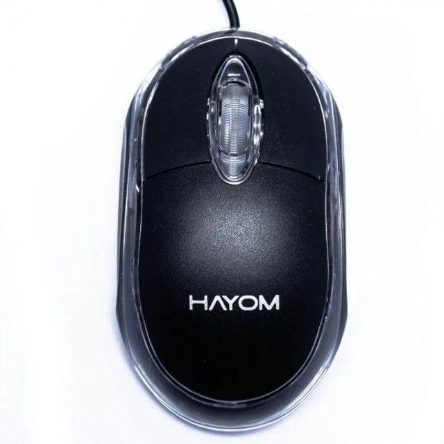 Mouse usb MU2914 - Com fio  Hayom