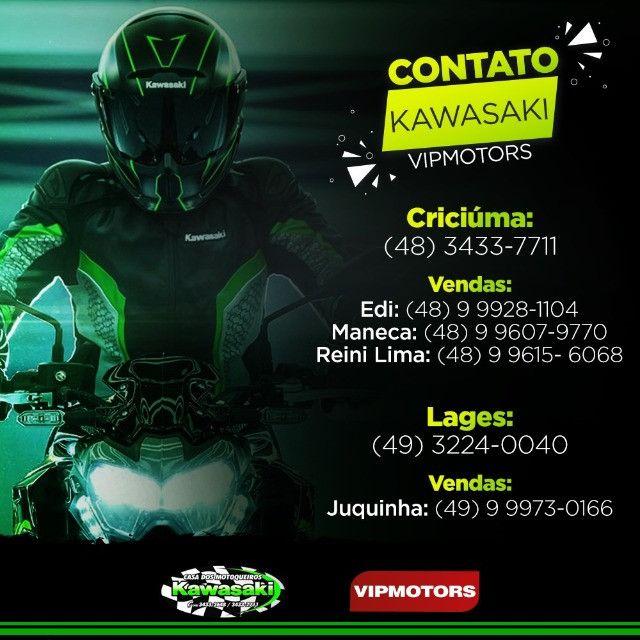 Kawasaki Z 650 ABS Preta 2021 - Foto 12