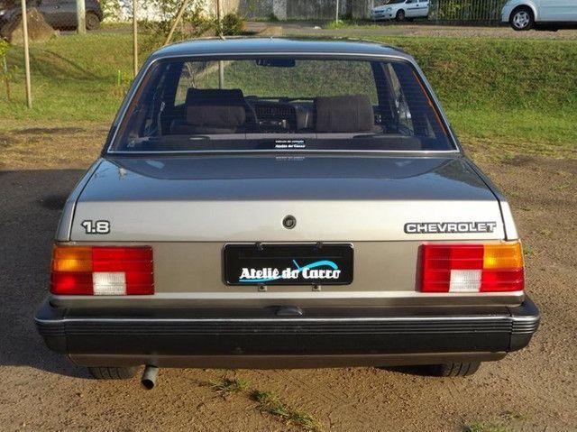 Monza SL 1990 1.8 Marrom Alabama - Rara originalidade e integridade. Vale a pena ver! - Foto 3