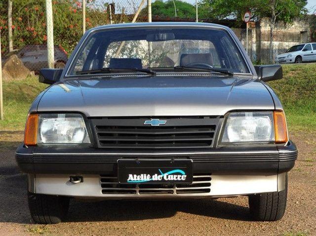 Monza SL 1990 1.8 Marrom Alabama - Rara originalidade e integridade. Vale a pena ver! - Foto 4