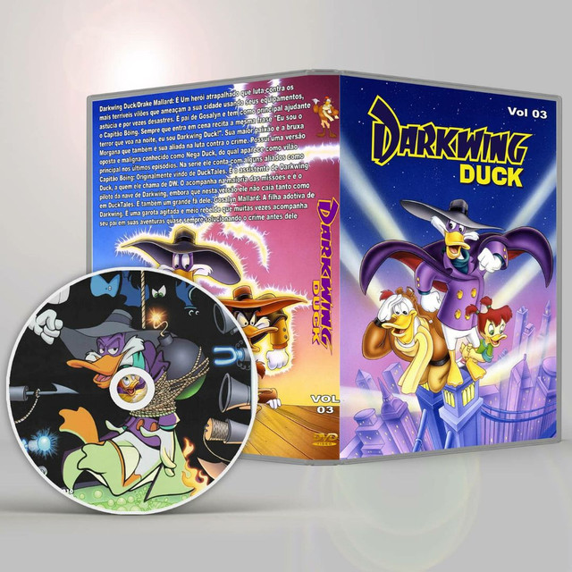 Dvd Darkwing Duck Completo  - Foto 3