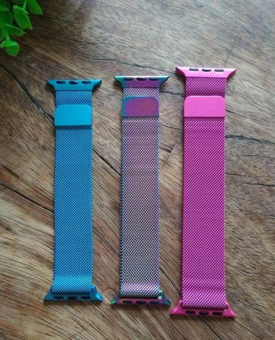 Pulseiras de Aço Inoxidável para Apple Watch são os acessórios que faltavam! - Foto 2