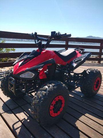 Quadriciclo Elétrico 1000w - Vermelho / Novo