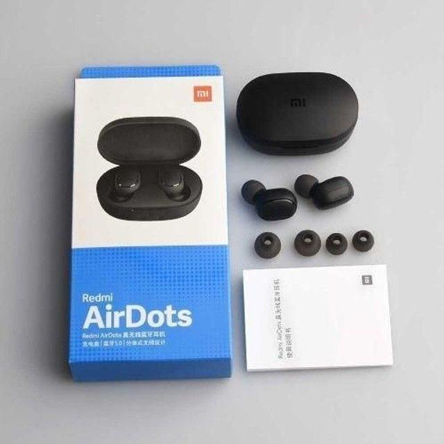 Fone Sem Fio Redmi Airdots S - Original Bluetooth Preto
