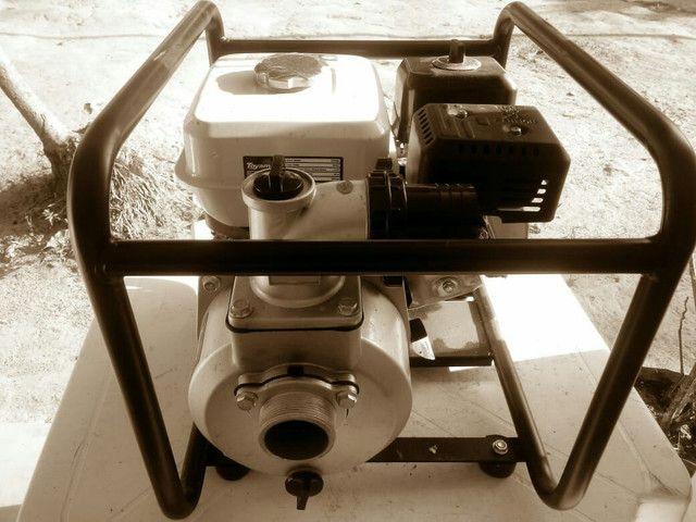 Motorbomba d'água a gasolina - Foto 2