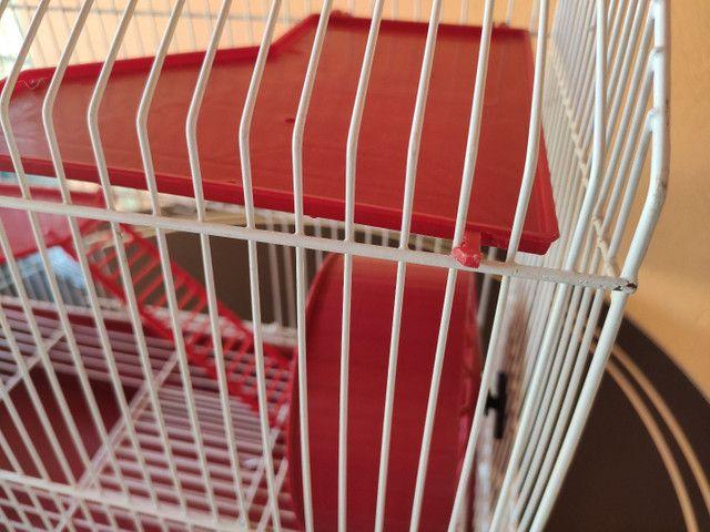 Gaiola para hamster dois andares  - Foto 6