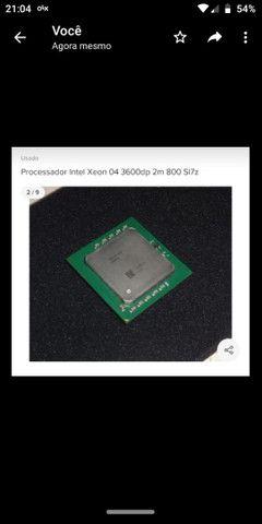 Processador Intel xeon 04 3600 dp 2m 800 si7z
