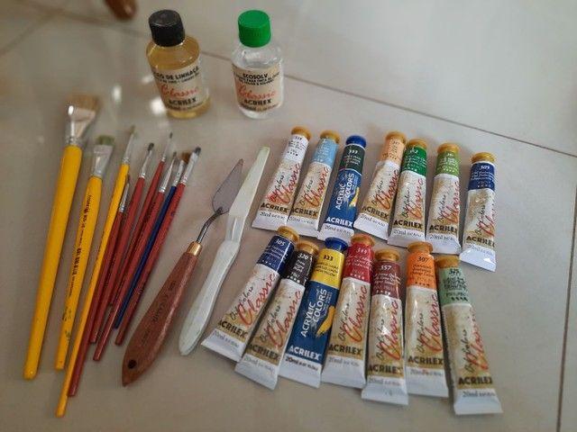 Kit pintura a óleo  - Foto 3