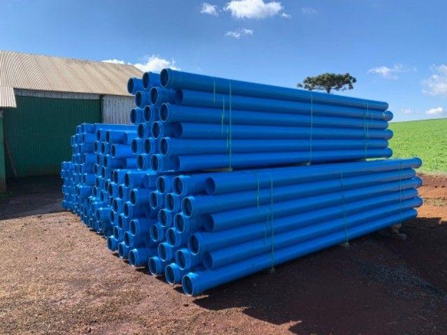 Canos PVC Amanco para Irrigação 200 mm - Foto 3