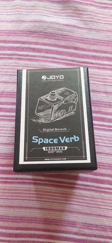 Pedal Reverb Joyo Space Verb Na Caixa - Foto 3