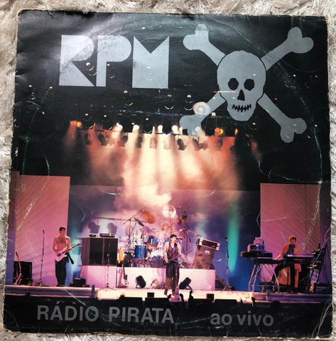 Vinil RPM ao vivo Original