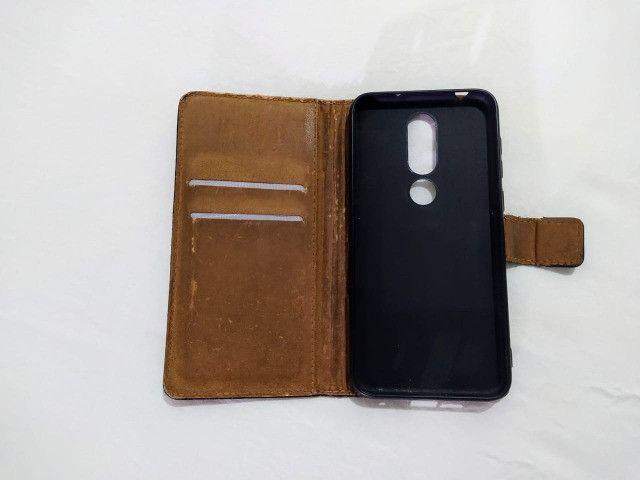 Capa Carteira Flip Nokia X6 - Foto 2