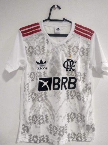 Camisas Exclusivas Flamengo Infantil Feminina - Foto 3