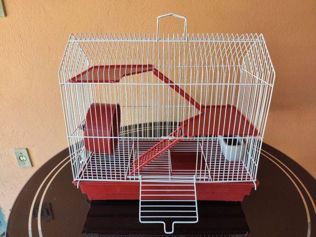 Gaiola para hamster dois andares
