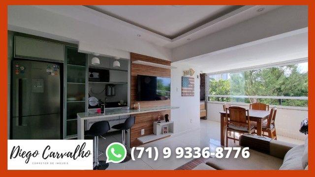 Bosque Patamares - Apartamento impecável 2 quartos, sendo uma suíte em 65m²  - (R2) - Foto 2