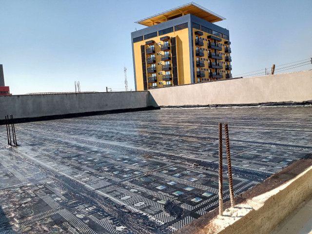 Aplicação de manta asfáltica - Foto 5