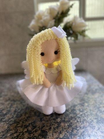 Anjinha para decoração de Batizado - Foto 4