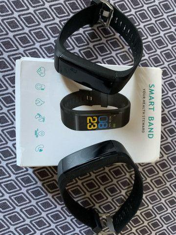 2 pulseiras smart band