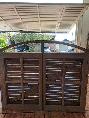 Porta e janelas de madeira  - Foto 6