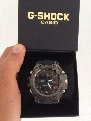 Relógio G-Shock Caixa de aço A prova d'água.  - Foto 3