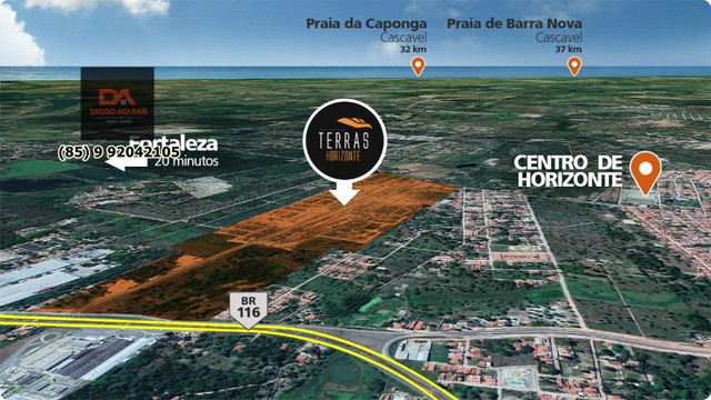 Loteamento Terras Horizonte $%¨& - Foto 17
