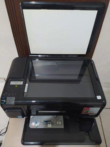 Impressora HP Photosmart C4480 All-in-one (Boa para retirar peças - Leia a descrição))