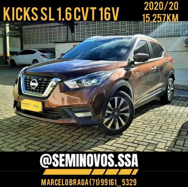 Kicks SL 1.6 CVT 16v - 2020/20 - Marcelo Braga