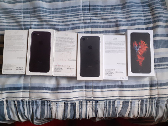 Caixa do iPhone 7, e 6s