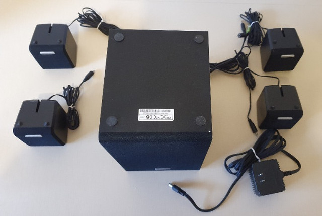 Caixas de som 4.1 para computador e notebook da Creative - Foto 3